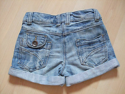 """Next """"distressed"""" Denim  Jeans Shorts   Age - 6  Years"""