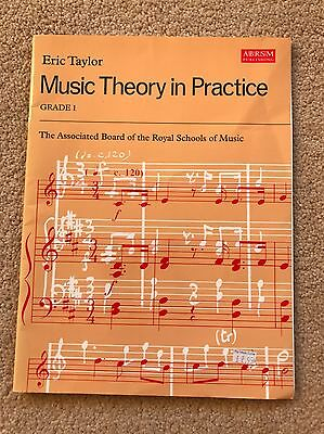 music theory in practice grade 1 ABRSM Publishers.