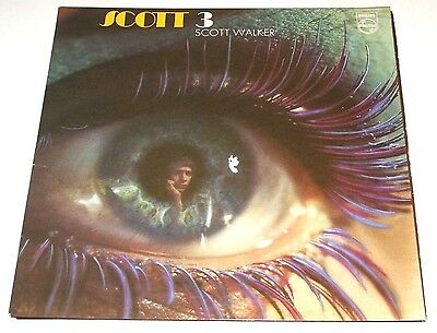 SCOTT WALKER scott 3 - UK LP PHILIPS gf stereo