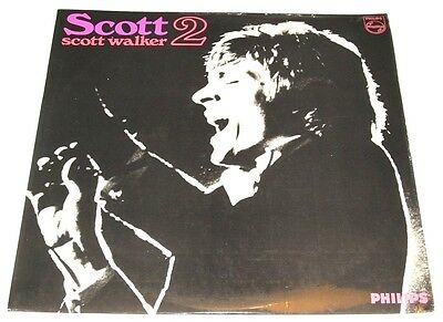 SCOTT WALKER scott 2 - UK LP PHILIPS mono