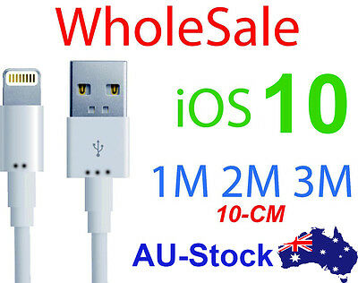 Sync data usb charger cable cord for iPhone 5s 5 6S 6 7 plus 3m 2m lightning
