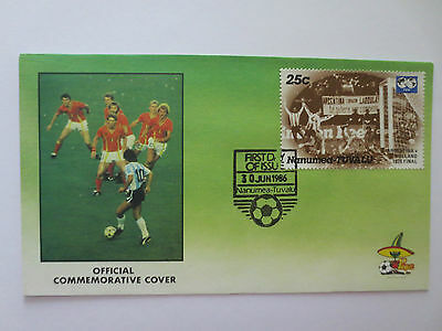 Official Argentina Holland 1986 Fifa World Cup Mexico Postal Cover With Stamps