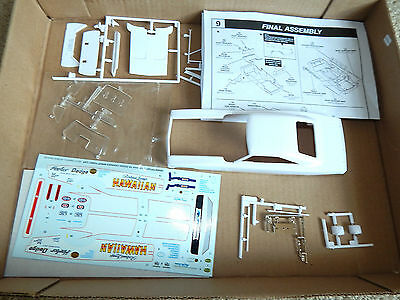 Dodge Charger Funny Car Dragster BODY 1/25 scale plastic model parts  (HIFC)
