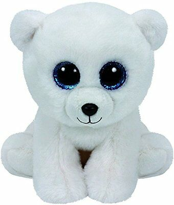 Ty - TY42108 - Beanies - Peluche Arctic L'ours Polaire 15 cm