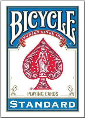 1 Pack Blue Bicycle Standard Playing Cards, Brand New