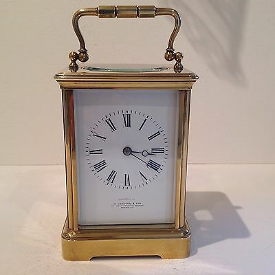 Antique French Carriage Clock From François Arsenè Margaine