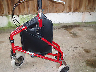 Mobility aid  Avon Tri Walker with bag