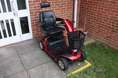 Pride Colt Plus Mobility Scooter mid size transportable