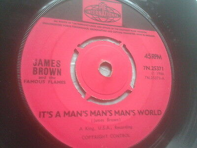 James Brown It's A Man's Man's Man's World/ Is It Yes or Is It No ! Original PYE