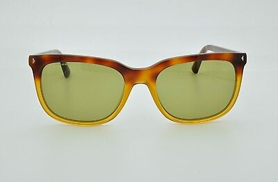 ae19e30eabcc5 Prada Sunglasses SPR 12R TKU 4K2 Brown Tortoise Yellow Green Lens + Prada  Case