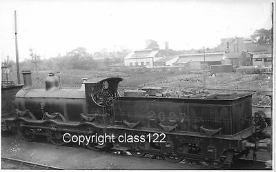 B&W photo MR Kirtley 0-6-0 No.2627 at Bournville