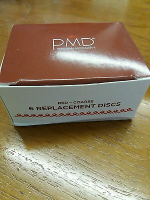 Pmd Personal Microderm Replacement Dics Coarse Red Brand New