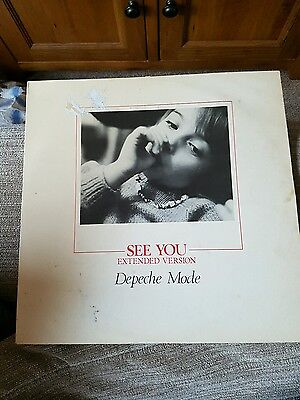 Depeche Mode 'see You (Extended)' 12'' Vinyl (Mute 018)