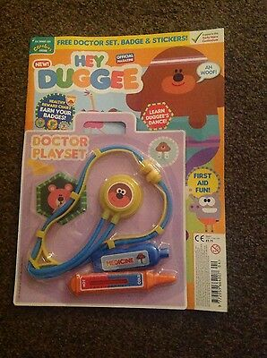 Hey Duggee Official Magazine #4 - Free Doctor Playset, Badge & Stickers!