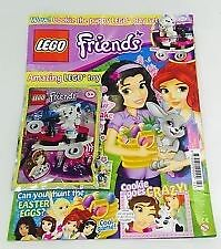 LEGO friends Magazine #22 - WOW! Cookie The Puppy LEGO Play Set! (NEW)
