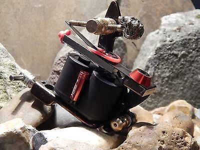 Custom Tattoo Machine  Colour Packer No3 -Used Spare Parts-Frame- Ink-Coils