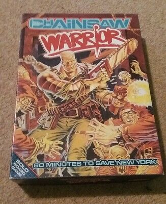 Chainsaw Warrior 1987 Games Workshop Solo Board Game