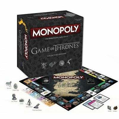 Game of Thrones Monopoly Brand New Sealed FREE POST