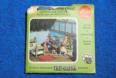 Little Red Riding Hood Fairy Tales 3-reel Set - Sawyers View-Master S3 Complete