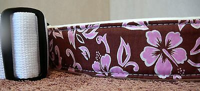 LM / ALEXIS - PADDED GUITAR STRAP FOR GIRLS - Hawaiian Print
