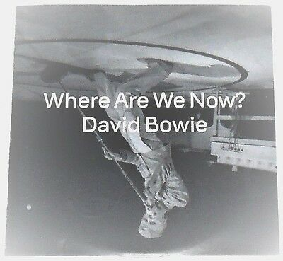 David Bowie 2013 Very Rare French Promotional CD Where Are We Now