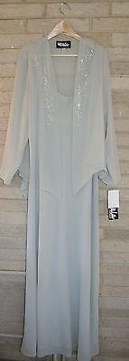 NWT URSULA of Switzerland Evening, Gown, Mother of the Bride Dress Size 22W