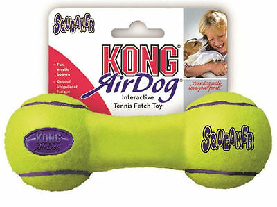 Kong Air Dog Squeaker Dumbbell GIOCO CANE