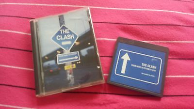 "MINIDISC RARE, THE CLASH ""FROM HERE TO ETERNETY LIVE"",usado ,used ,minidisk"