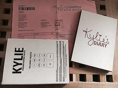 Kylie's Diary Limited Edition Palette Kyshadow Kylie Cosmetics Jenner AUF LAGER