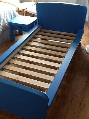 Boys Children's Bed And Bedside Cabinet IKEA Mammut Style