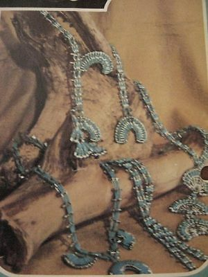 HOW TO MAKE SAFETY PIN JEWELRY vintage craft 18 patterns Native American style