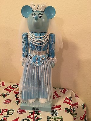 New Disney Parks Haunted Mansion Minnie Mouse Bride NUTCRACKER Christmas Hatbox