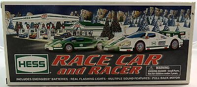 Hess Race Car and Racer New in Box