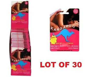 Lot of 30 Kangaroo for Women Sexual Activity Orgasm  Increasing $4.50 for Pill