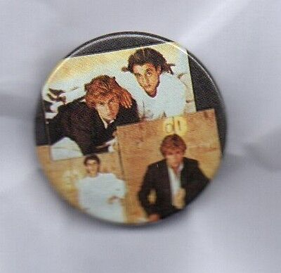 WHAM! BUTTON BADGE 80s POP BAND Make It Big - George Michael 25mm PIN
