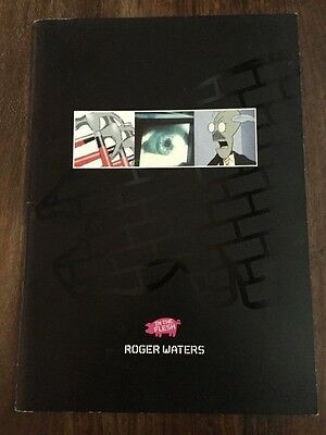 Roger Waters autographed In the flesh tour programme signed in person.