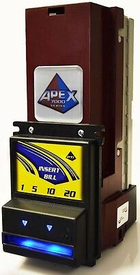 Pyramid Apex 7000 Note Reader For Vending Machines - Mdb - Made In The Usa