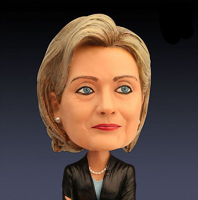 18cm Hillary Bobble Head Resin Technology Collectible Doll
