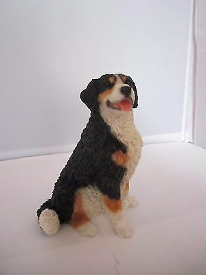 Bernese mountain dog sitting pup dog figure Castagna hand made in Italy new