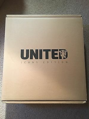 Manchester United Icons Opus Limited Edition Book,Brand New,Un Opened, Mint