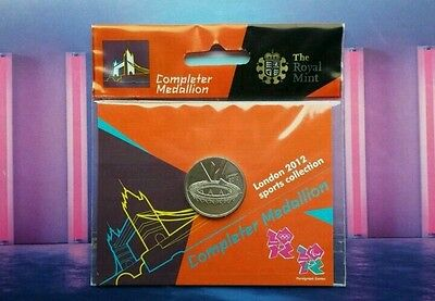 Original Completer Medallion Royal Mint 2012 Olympic Coin Hunt Brand New Sealed