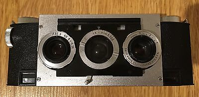 Stereo Realist Camera. Faulty, For Spares Or Repair!
