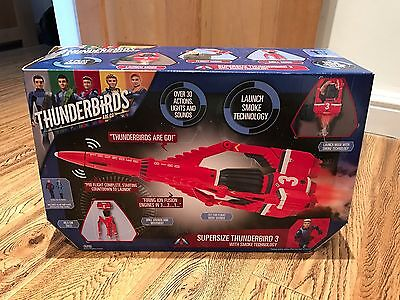 Thunderbirds Are Go Supersize Thunderbird 3 Playset With Smoke Technology *NEW*