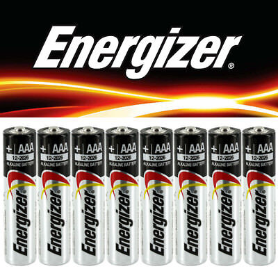48 Brand New Genuine Alkaline Energizer AAA Size Batteries EXPIRE 2027