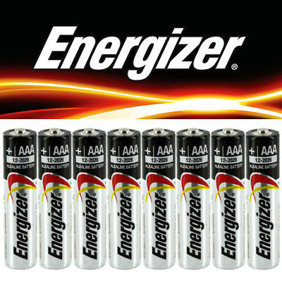 48 Brand New Genuine Alkaline Energizer Duracell AAA Size Batteries EXPIRE 2027