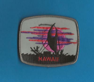 Hawaii USA Iron On Hat Jacket Hoodie Biker Vest Backpack Travel Patch Crest A