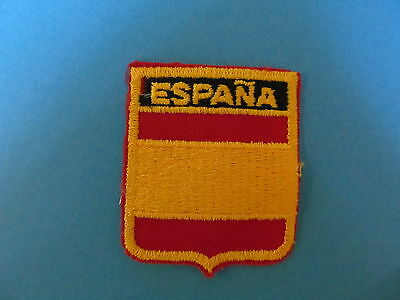 ESPANA SPAIN Shield Patch Hat Jacket Biker Vest Backpack Travel Country Crest A