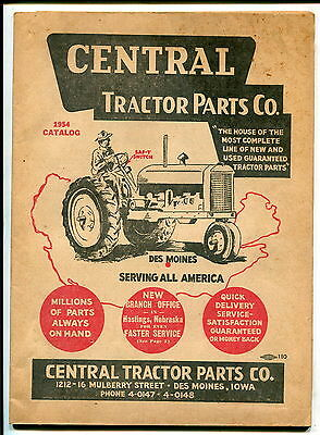 1954 Central Tractor Parts Co. catalog
