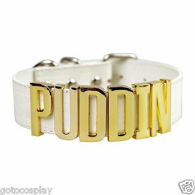 Suicide Squad Harley Quinn CHOKER Inspired Neck Collar Puddin Necklace