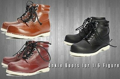 kss1001 3 Pairs ANKLE BOOTS for Homme Fashion Royalty Ken